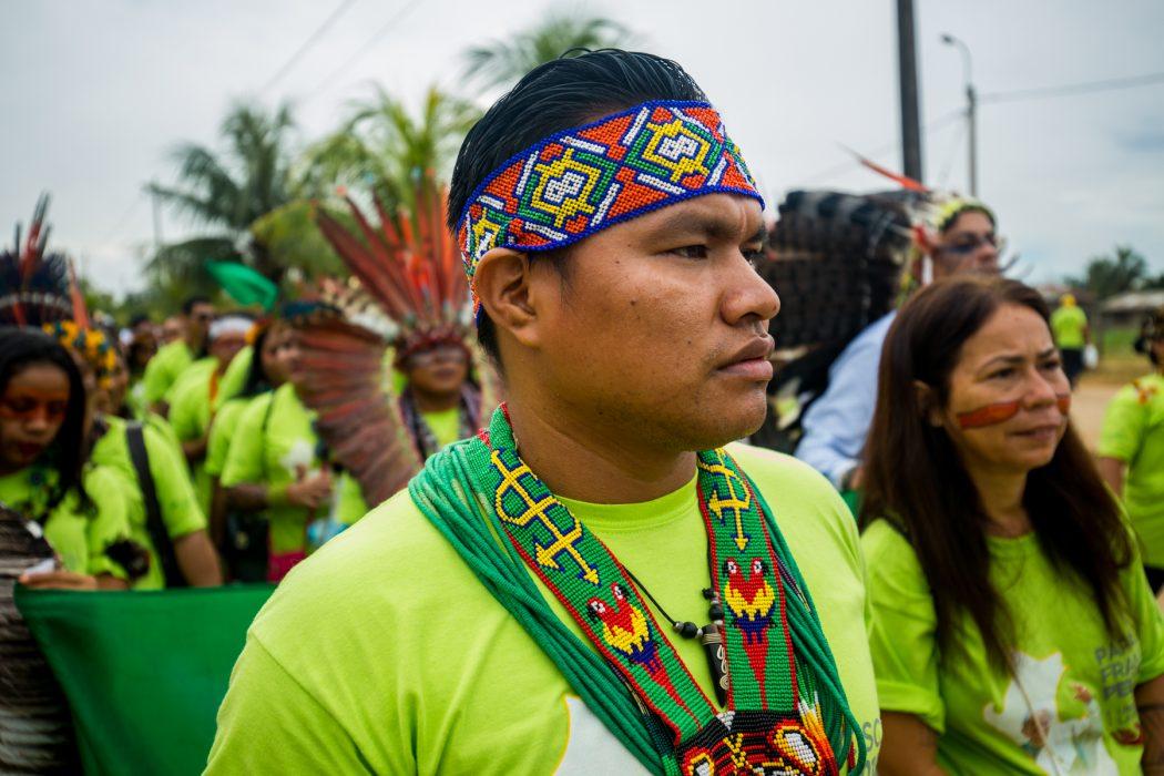 Do Acre e de Rondônia, duas delegações seguiram até Puerto Maldonado, no Peru. Foto: Tiago Miotto/Cimi