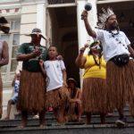 Em Ilhéus, povo Tupinambá protesta por demarcação e contra o Parecer 001 da AGU